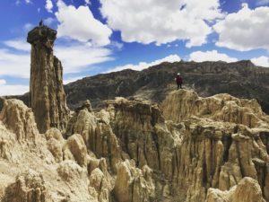 月の谷ボリビア