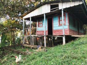 村の古民家