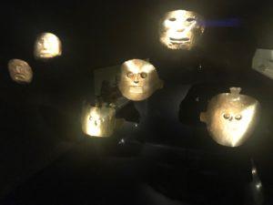 黄金博物館仮面
