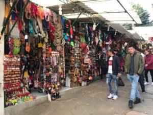コロンビア民芸品市場