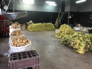 山盛りバナナ