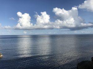 雲の景色写真