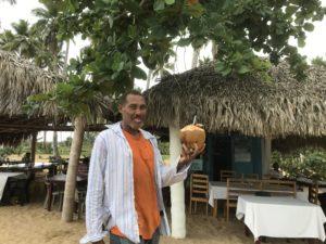 ココナッツ売り