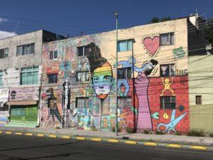 メキシコ壁画