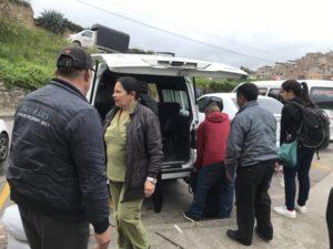 コロンビア国境の町