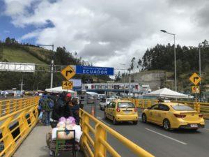国境越えエクアドル