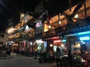 マチュピチュ村の夜