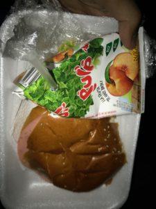 リマバス夕飯